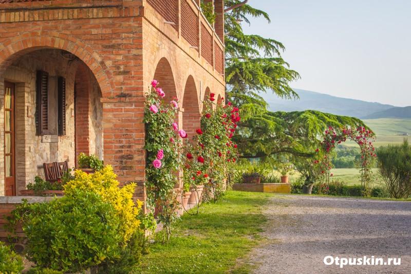 Агротуризм в Итальянской Тоскане