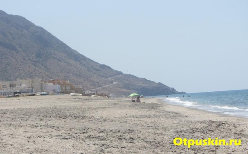 Пляж и море в Альмерии