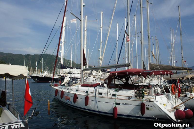 Аренда парусной яхты в Турции