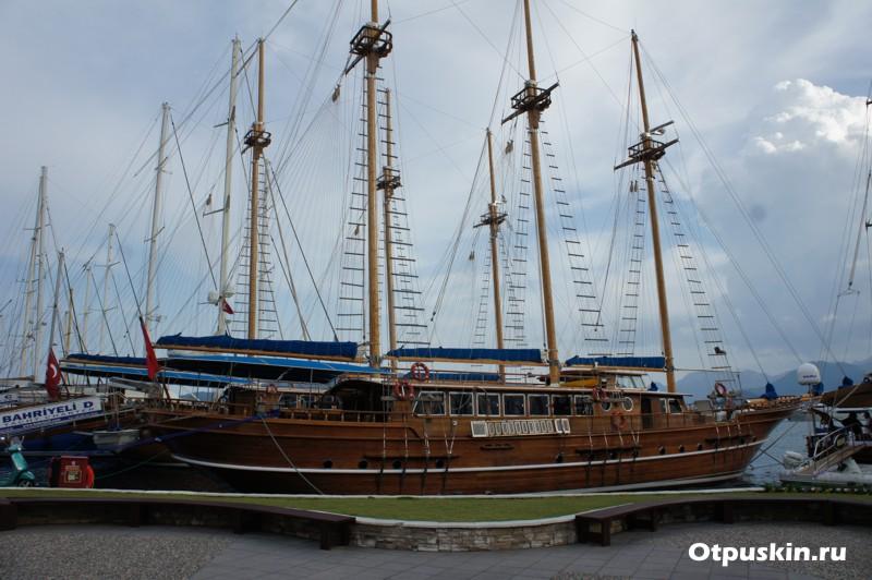 Аренда яхты в Турции Мармарис