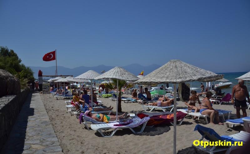 Пляжи в Кушадасах Турция