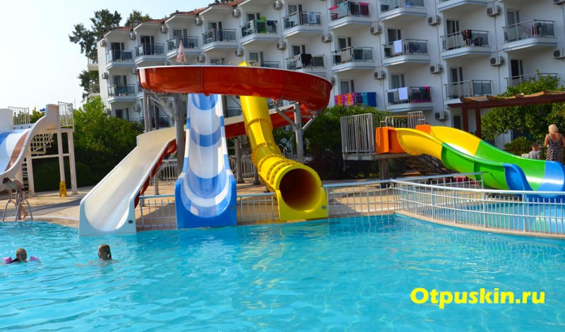 Горки в отеле sunconnect atlantique holiday club