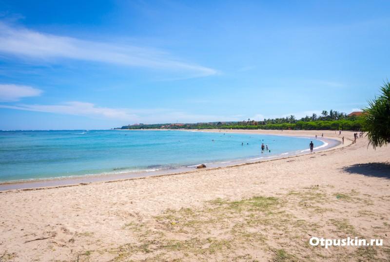 путеводитель по Бали - пляж Нуса Дуа
