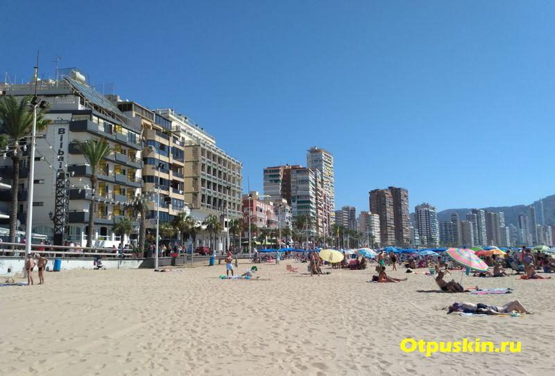 Пляжи в Бенидорме какие лучше?