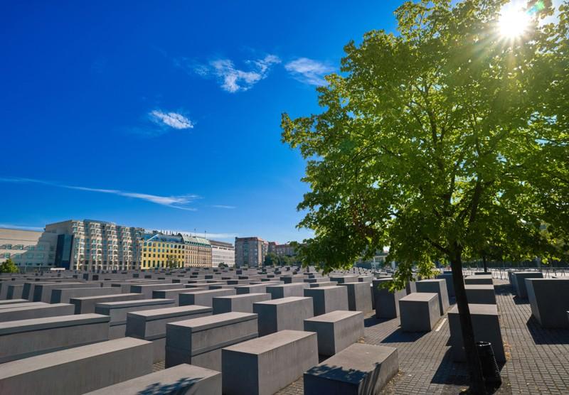 Берлин - памятник жертвам Холокоста