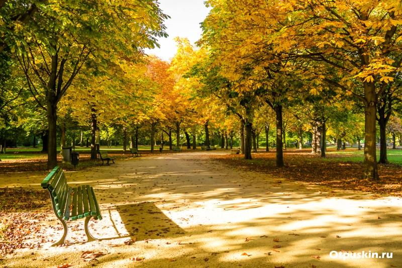 Берлин - тиргартен парк