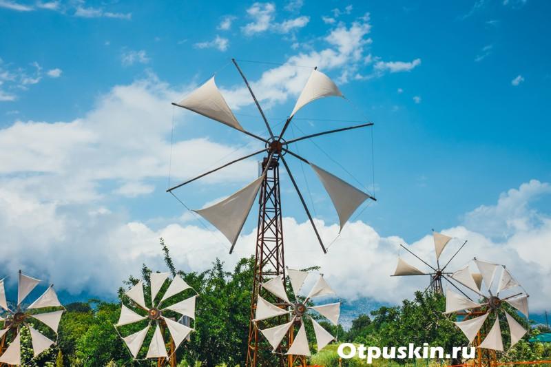 Крит ветряные мельницы