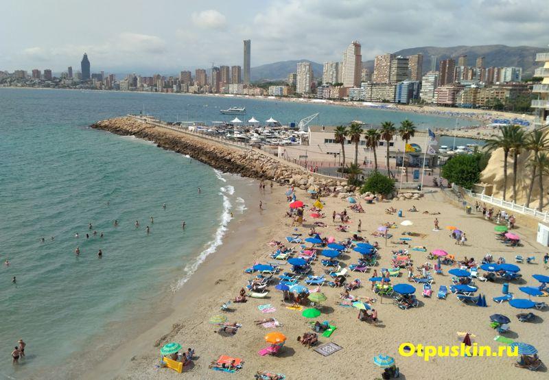 пляж кала дель маль пасс бенидорм отзыв