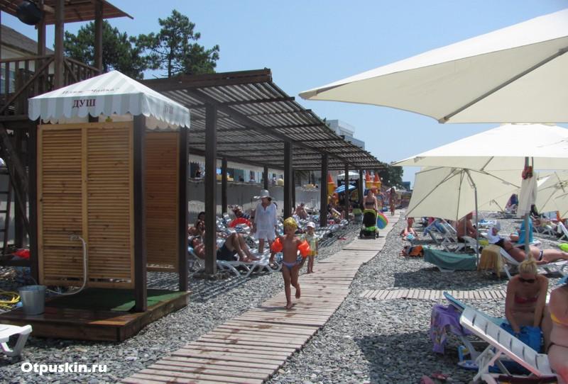 Детский пляж в Адлере