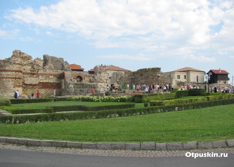 Старый город Несебр крепость