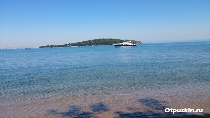 Пляж принцевых островов в Стамбуле