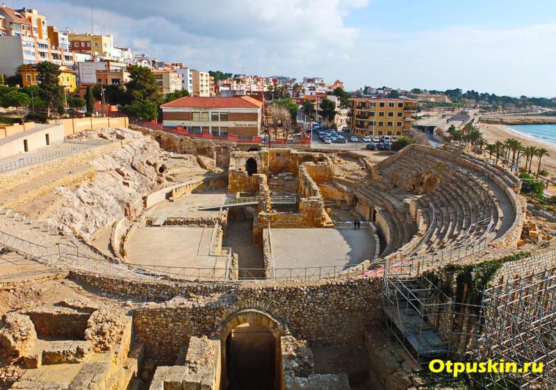 Римский амфитеатр в Таррагоне Испания